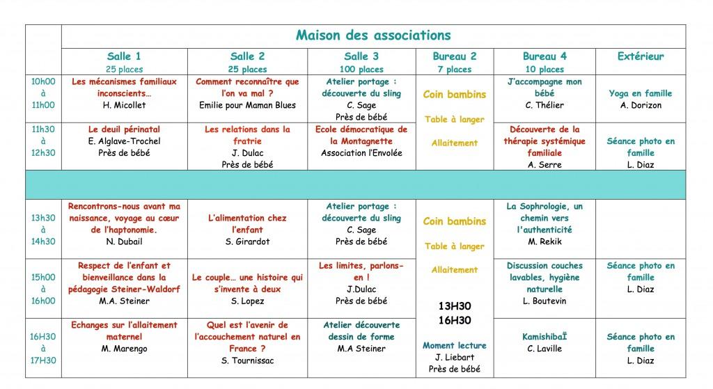 Programme MVA JP2016