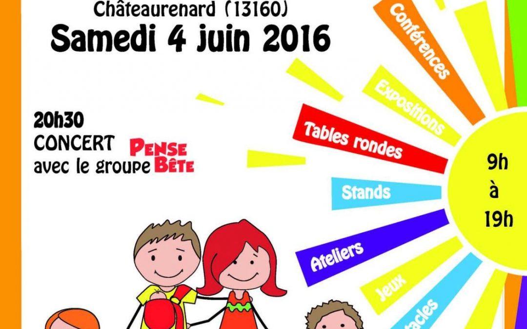 Journée de la Parentalité : 4 Juin 2016 à Châteaurenard
